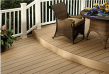 plastic wood decking